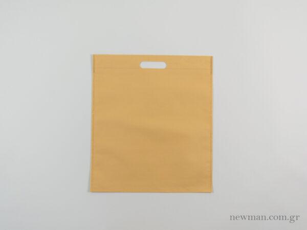 tsantes choufta 35x40cm non woven mpez ecru