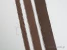 Κορδέλα γκρο με γαζί με φάρδος 15mm
