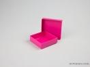 Κουτί χάρτινο για μπιζού 8x8x2,5 Φούξια