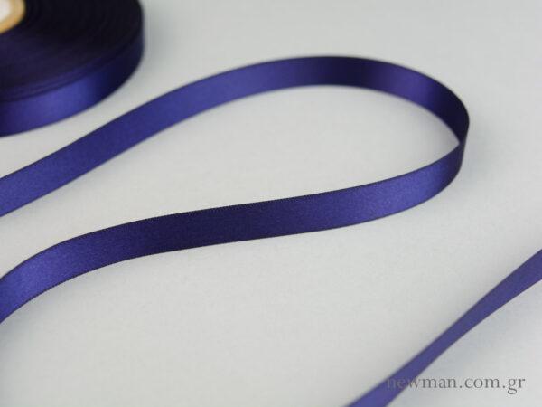 kordela-satin-gia-ektiposi-blue