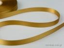 Χρυσή Κορδέλα σατέν γυαλιστερής, διπλής όψης