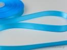 Γαλάζια Κορδέλα σατέν γυαλιστερής, διπλής όψης.