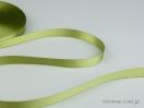 Πράσινο ελιάς Κορδέλα σατέν γυαλιστερής, διπλής όψης.