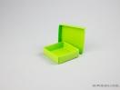 Κουτί χάρτινο για μπιζού 8x8x2,5 Λαχανί