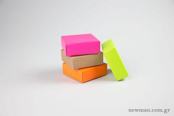 Κουτιά χάρτινα για μπιζού 10x10x4