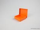 Κουτί χάρτινο για μπιζού 8x8x2,5 Πορτοκαλί
