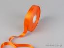 Πορτοκαλί Κορδέλα σατέν διπλής όψης