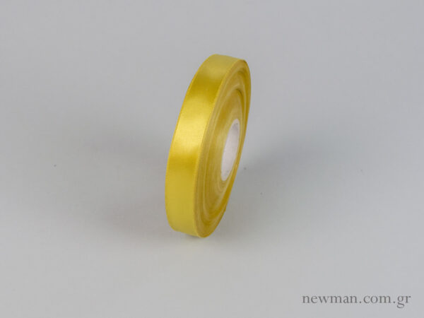 Χρυσαφί Κορδέλα σατέν διπλής όψης