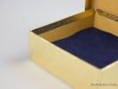 Σκληρό κουτί χάρτινο για μπιζού 10x10x3,5 Χρυσό