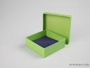 Σκληρό κουτί χάρτινο για μπιζού 10x10x3,5 Λαχανί