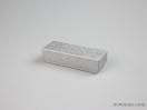 Σκληρό κουτί χάρτινο για μπιζού 12x4x3 ασημένιο
