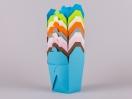 Χρωματολόγιο κουτιά origami Newman