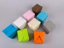 Κουτιά origami by Newman σε διάφορα χρώματα, ιδανικά για το πάρτυ