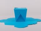 Κουτί origami by Newman σε χρώμα Τιρκουάζ