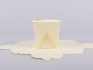 Κουτί origami by Newman σε χρώμα εκρού