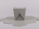 Κουτί origami by Newman σε χρώμα γκρι