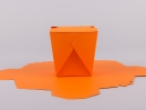 Κουτί origami by Newman σε χρώμα πορτοκαλί