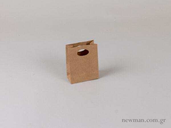 Τσάντα χάρτινη χούφτα tsanta xartini xoufta no0 063001
