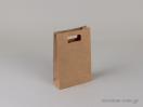 Τσάντα χάρτινη με χούφτα tsanta xartini xoufta no2 063003