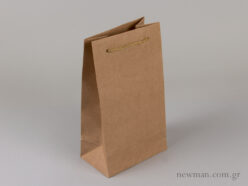 Kraft paper bag with cord no3