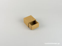 Sliding matchbox-type Kraft Box for small ring