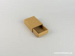 Κουτί kraft συρταρωτό για μενταγιόν νο5