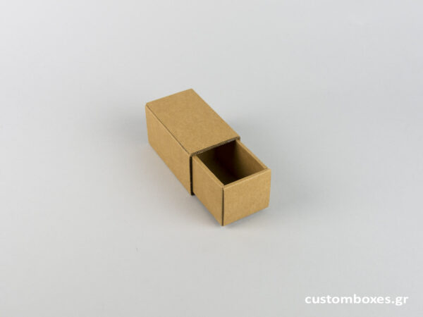 Κουτί kraft συρταρωτό για βραχιόλι