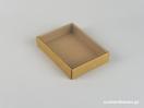 Οικολογικό κουτί kraft με διάφανο καπάκι μενταγιόν νο10