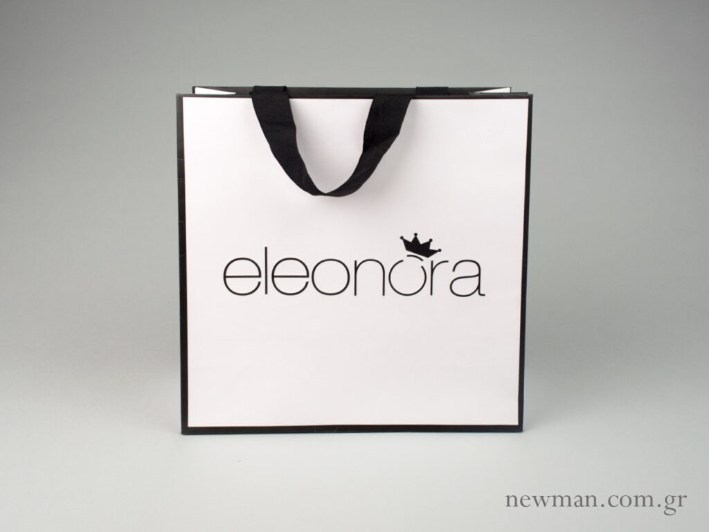 Τσάντες με εκτύπωση printed paper bag