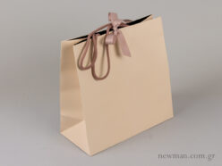Paper bag with cord and ribbon 331102