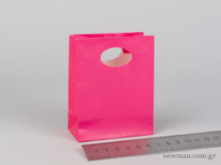 Χάρτινη τσάντα Χούφτα Νο00 Φούξια