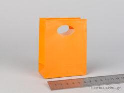 Χάρτινη τσάντα Χούφτα Νο00 Πορτοκαλί