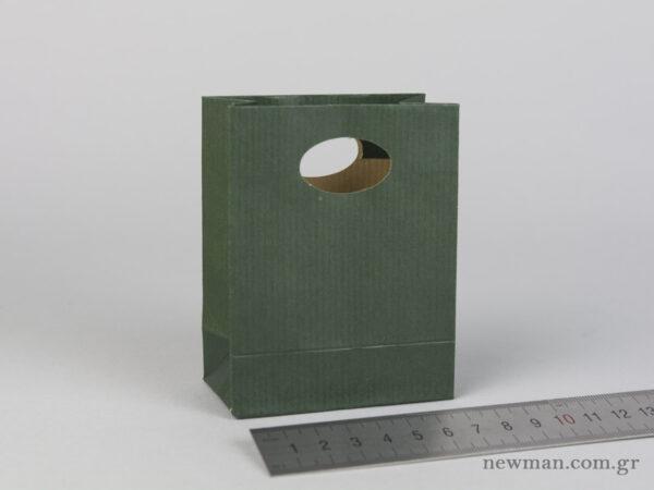 Χάρτινη τσάντα Χούφτα Νο00 Πράσινο