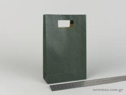 Χάρτινη τσάντα Χούφτα Νο02 Κυπαρισσί
