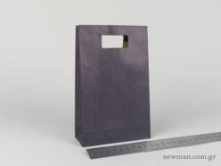 Χάρτινη τσάντα Χούφτα Νο02 Μπλέ