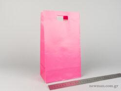 Χάρτινη τσάντα Χούφτα 03 Φούξια