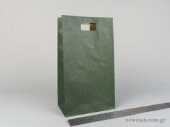 Χάρτινη τσάντα Χούφτα 03 Κυπαρισσί
