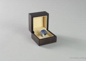 Ξύλινο κουτί κοσμημάτων για δαχτυλίδι γάντζος