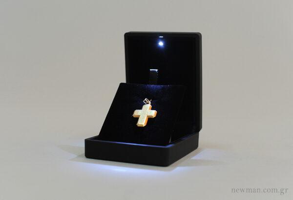 Κουτί για σταυρό με φως led