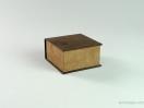 Κουτί Elegant καφέ σουέτ για χειροπέδα