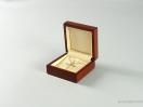 Κουτί ξύλινο σταυρός με κρίκο