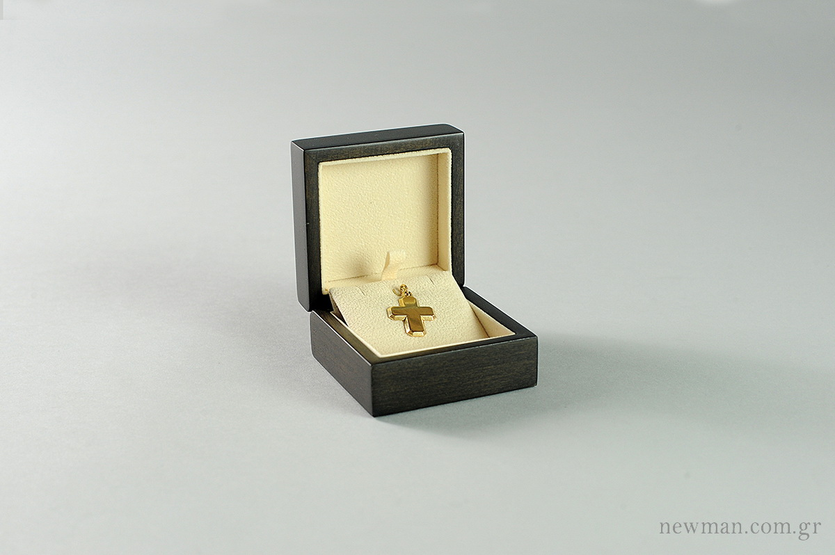 Forest Wooden Box for Cross (with hoop)