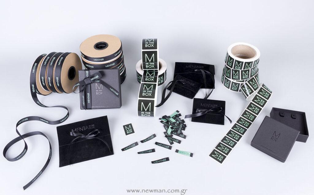 Menta in the Box Ολοκληρωμένη πρόταση ειδικής κατασκευής & εκτύπωσης