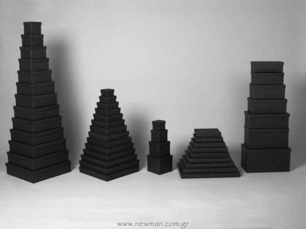 Κουτιά Ασημικών (μαύρα)