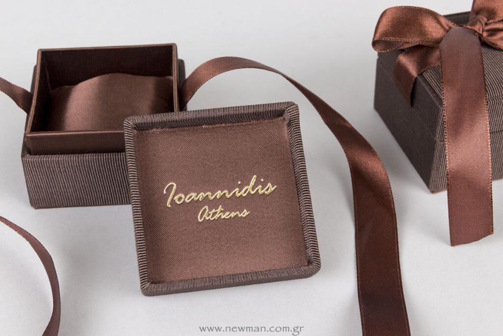 Κουτιά κοσμημάτων CAMP με εκτύπωση χρυσοτυπίας