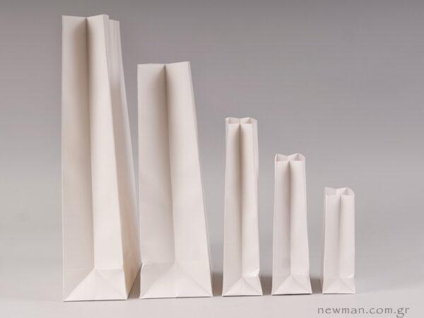 Τσάντα φάκελος λευκή