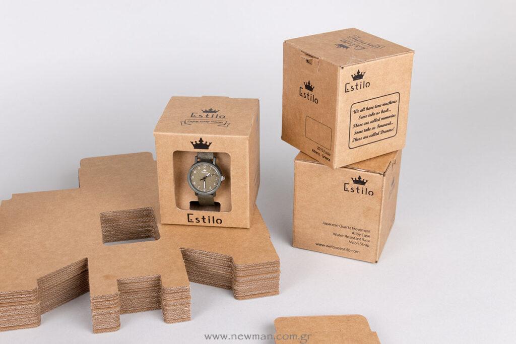 Κουτί συσκευασίας και παρουσίασης (display box)