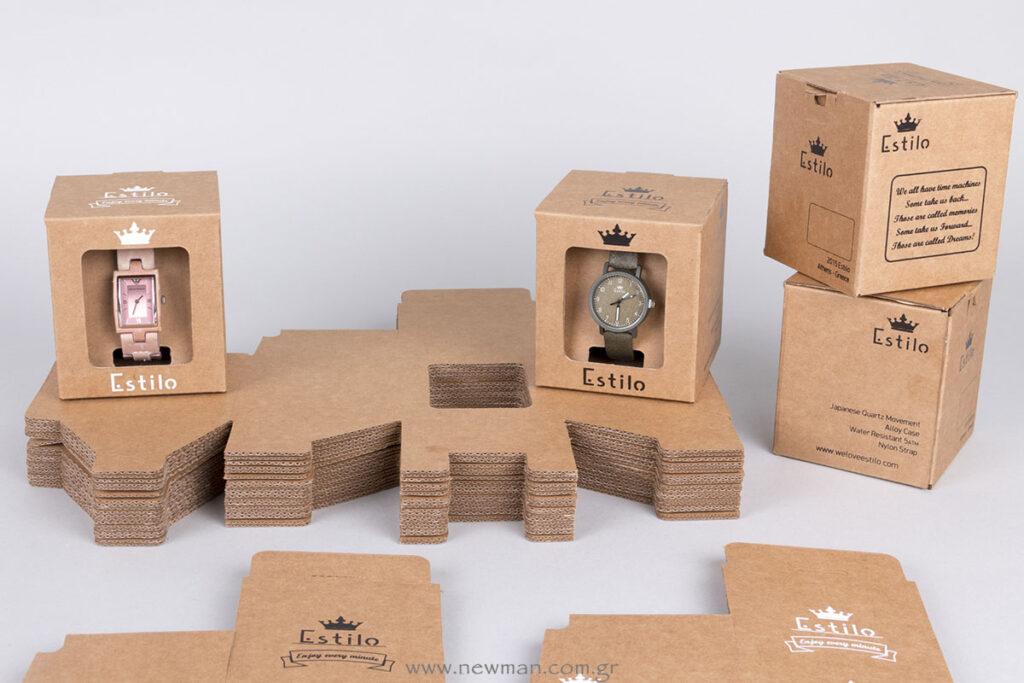Customboxes κουτιά για ρολόγια