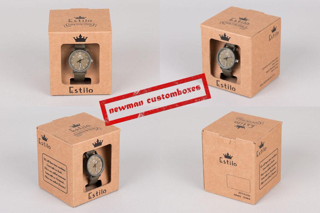 Estilo custombox black printed made by Newman
