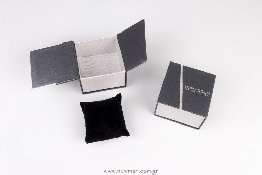 Κουτί για ρολόγια με λογότυπο Horologium